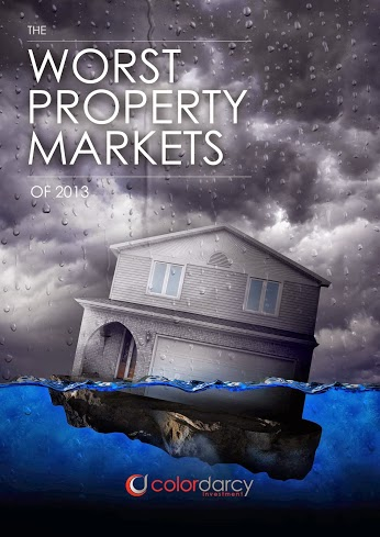 Worst Property Markets 2013